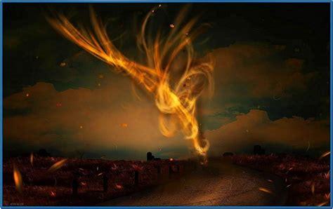animated screensaver tornado