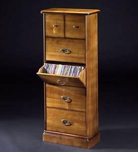 Meuble Tv Rangement : armoire range dvd ~ Teatrodelosmanantiales.com Idées de Décoration