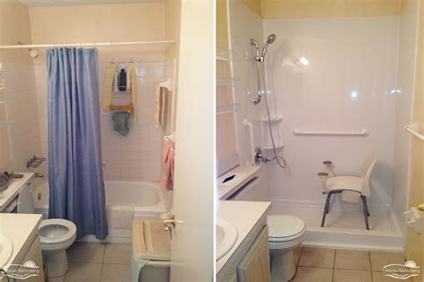 shower after walk in shower before after photo gallery lifestyle