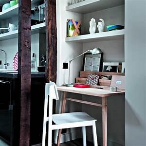 Créer Son Bureau Ikea : son bureau dans le salon mariekke ~ Melissatoandfro.com Idées de Décoration