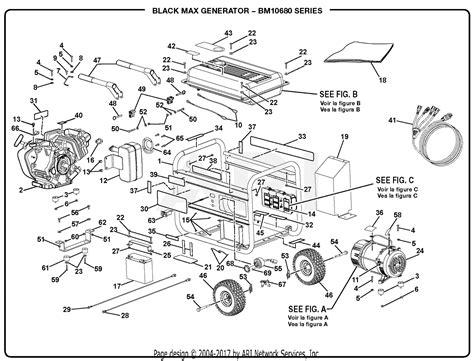 Homelite Generator Parts Diagram For General Assembly