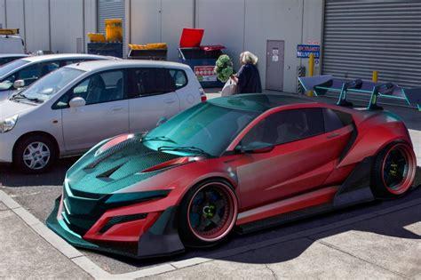 Artist Creates 2018 Honda Nsx Super Gt Race Car Pits It