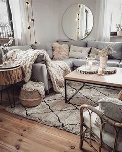 Cozy, Neutral, Living, Room, In, 2020