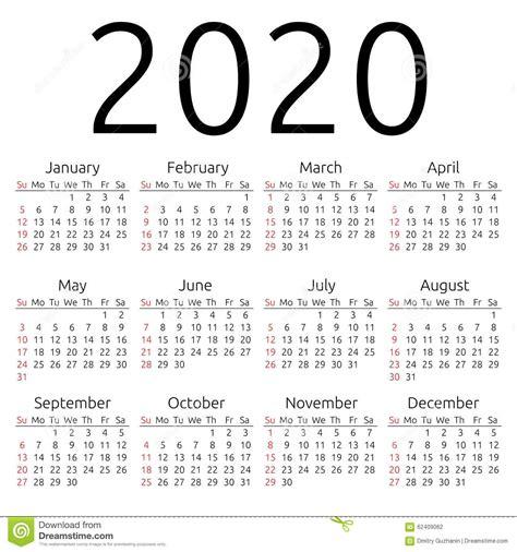 vector calendar sunday stock vector illustration text plain