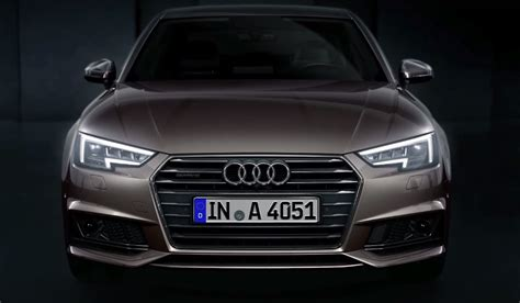 audi matrix headlights video audi reveals a4 39 s new matrix led headlights gtspirit