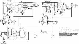 2x45 Watt Tube Amplifier Under Vacuum