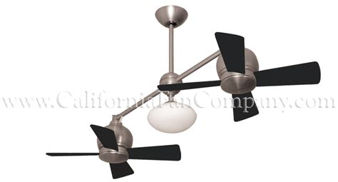 Metropolitan Dual Motor Ceiling Fan by Metropolitan Ceiling Fan Weathered Brick 2 X 24
