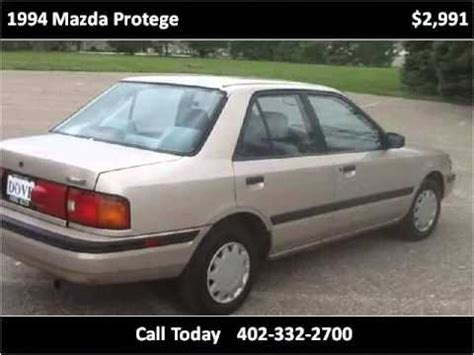 how to learn all about cars 1994 mazda 1994 mazda protege used cars gretna ne youtube