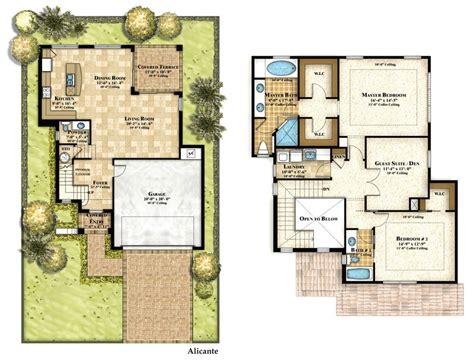 two floor plans floor plan augusta house plan small 2 plans with