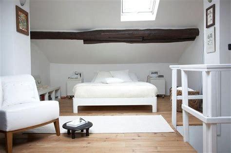 chambre mansardée deco chambre