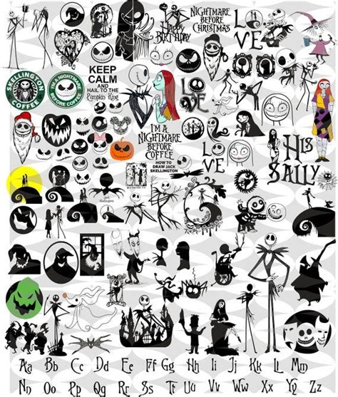 The Nightmare Before Christmas Svg Free – 424+ SVG File Cut Cricut