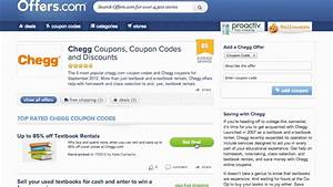 Chegg Coupon Code 2013