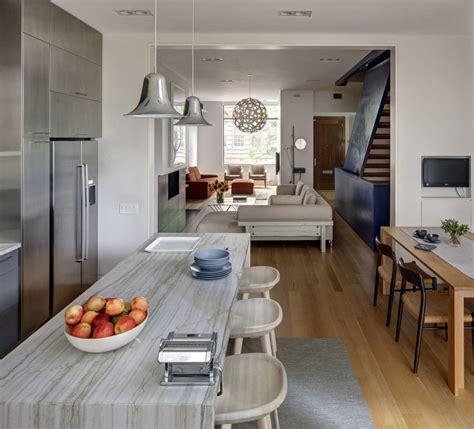 stylish townhouse interior   york