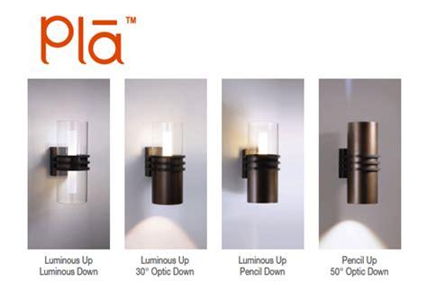 visa lighting s pla led outdoor sconces spectrum