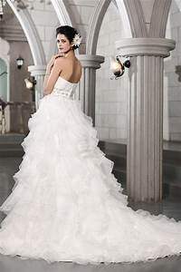 ball gown sweetheart sleeveless beading long organza With hebeos wedding dresses