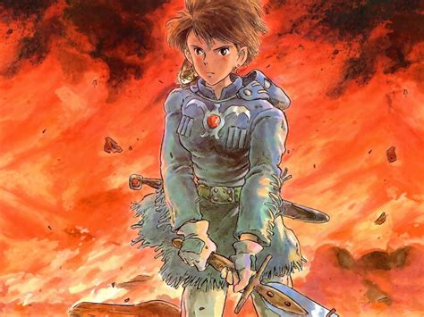 Space Battle Wallpaper Hd Nausicaa Eco Warrior Of Life Critical Fantasies