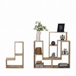 Etagere Bois Design : rangement design modulaire en bois massif filippus par ~ Teatrodelosmanantiales.com Idées de Décoration