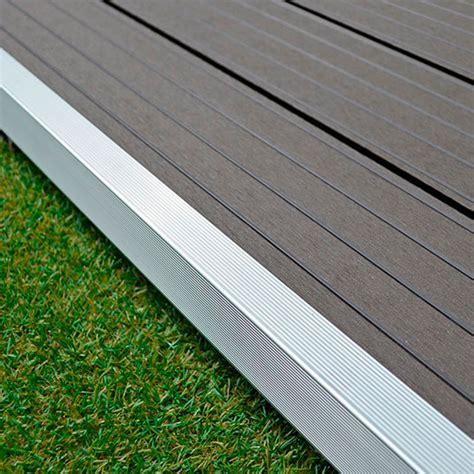 profil 233 de finition aluminium terrasse composite