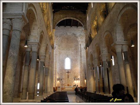 Cattedrale Di Trani Interno - trani la cattedrale interno la grandiosa navata