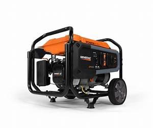 Generac Power Systems - 3600 Watt Gp Series Portable Generator With Electric Start