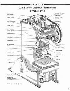 Minster Repair Parts Flywheel Type Obi Manual No  155