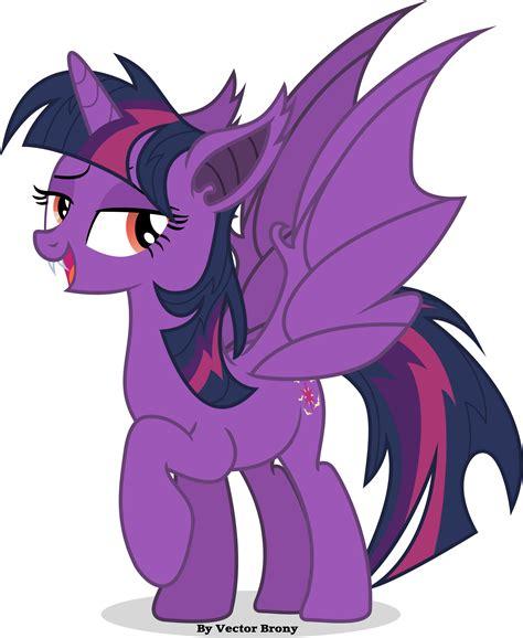 bat twilight sparkle mlp pony brony vector deviantart bats twilie ponies fluttershy mane fimfiction fan fanclub princess total baby attached