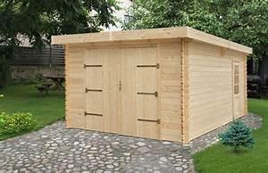 decouvrez notre garage prefabrique bois tulipe 19 44mm With garage prefabrique en kit