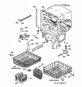 Wiring Diagram For Ge Profile Dishwasher