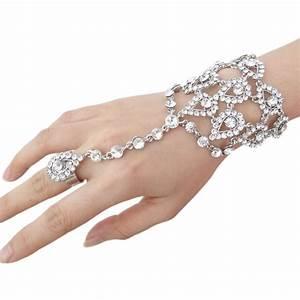 2015 new bella tear drop clear ab wedding bracelet ring With crystal wedding ring sets