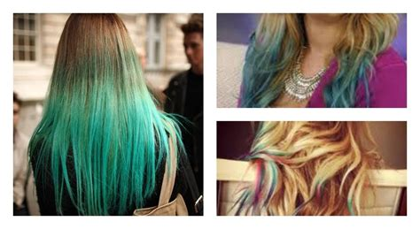 How To Dip Dye Your Hair With Food Coloring!