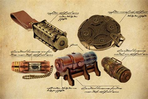 Here Are Five Steampunk USB Flash Drives You Simply Can't