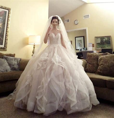 hoop skirt  veil arrived today  wedding   finally complete