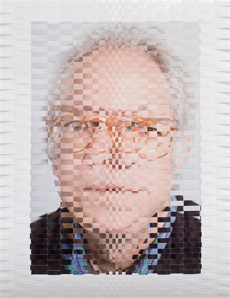 woven portraits  david samuel stern inspiration grid