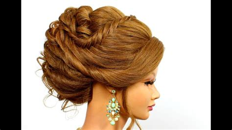 updo hairstyle  long hair tutorial youtube