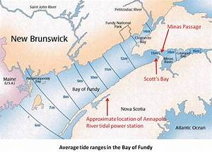 A Tidal Power Lagoon In Nova Scotia U2019s Scott U2019s Bay