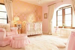 Vorhänge Babyzimmer Mädchen : babyzimmer einrichten 50 s e ideen f r m dchen ~ Whattoseeinmadrid.com Haus und Dekorationen