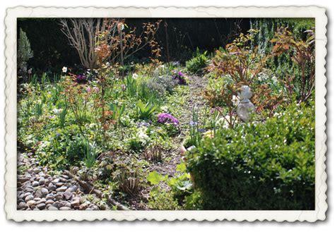 Gartenmalereien Der März Garten