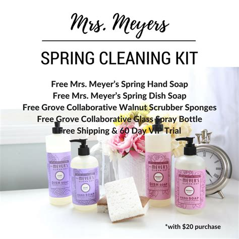 meyers  spring cleaning kit  idea room