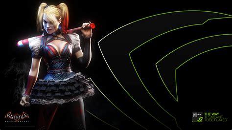 Nvidia Harley Quinn Arkham Knight Uhd 4k Wallpaper Pixelz