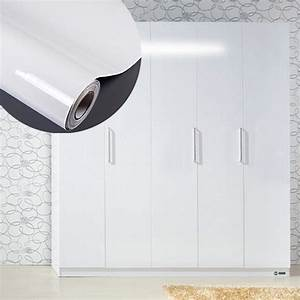 high glossy white diy decorative film self adhesive With kitchen colors with white cabinets with free gun company stickers