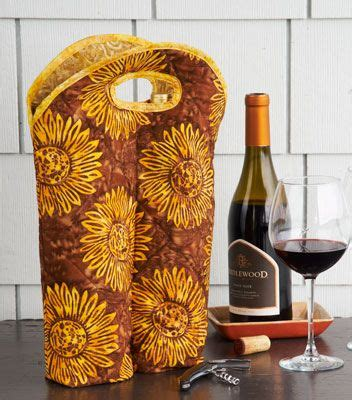 wine bag pattern google search sewing quilted gifts