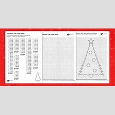 Christmas Tree Graph Worksheet  Christmas, Graph, Numeracy