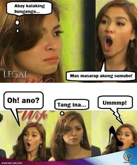The Legal Wife Meme - the legal wife meme sino ang mas masarap sumubo kowtz pinoy quotes and jokes