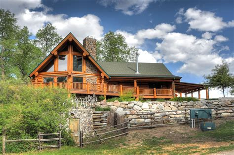Cabin For Sale - colorado log homes for sale