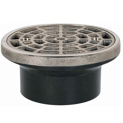 sioux chief 2 in abs round head general purpose drain in