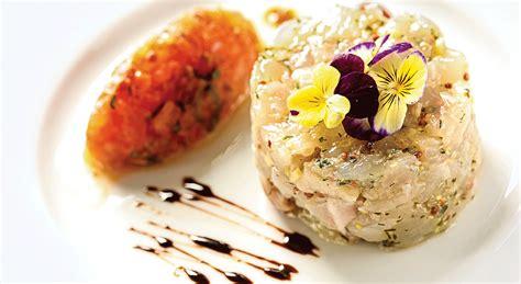 plat d automne cuisine recette tartare de dorade royale tomates et herbes fraîches