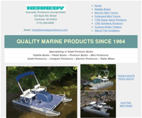 Pontoon Paddle Boat Manufacturers by Kennedypontoons Paddle Boats Mini Pontoons Pontoon