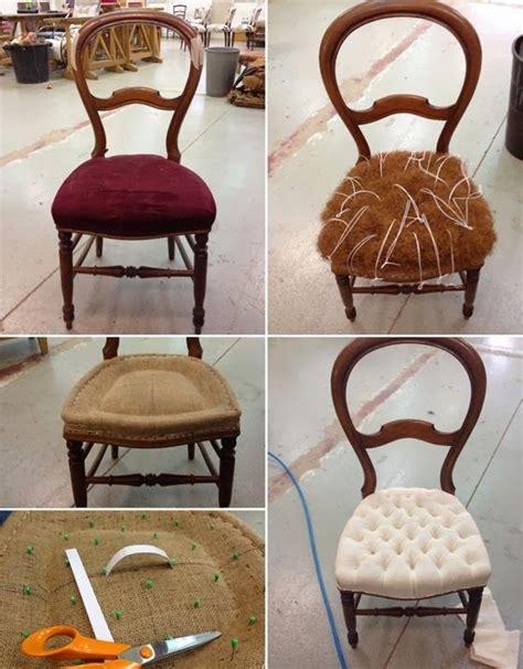 recouvrir des chaises les 25 meilleures idées de la catégorie chaises