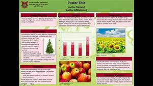 Sample Poster Template Final - YouTube