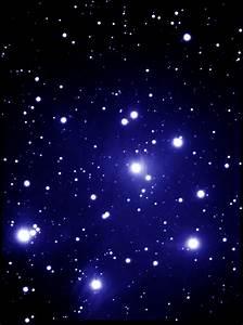 M45 Pleiades open cluster (colour)